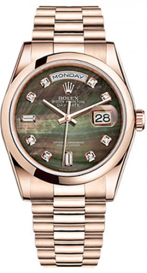 Rolex Day-Date 36 Solid Gold Watch 118205