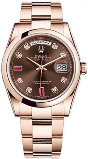 Rolex Day-Date 36 Gold Men's Watch 118205