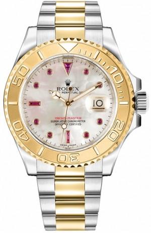 Rolex Yacht-Master 40 Men's Gold & Steel Watch 16623