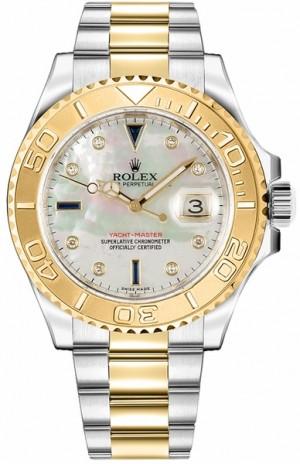 Rolex Yacht-Master 40 Diamond & Sapphire Dial Watch 16623