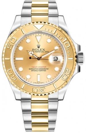 Rolex Yacht-Master 40 Gold & Steel Men's Watch 16623