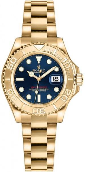 Rolex Yacht-Master 29 Solid Gold Watch 169628