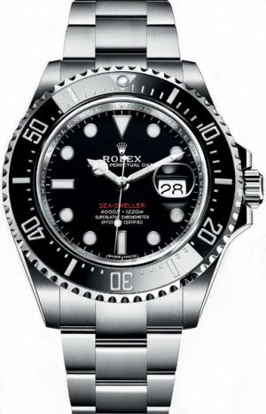 Rolex Sea-Dweller Black Dial Men's Watch 126600