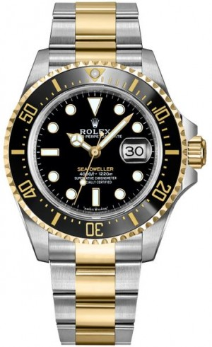 Rolex Sea-Dweller Solid Gold & Oystersteel Men's Watch 126603