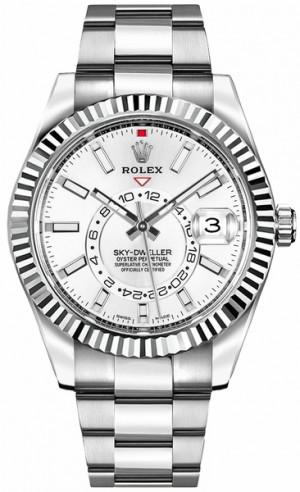 Rolex Sky-Dweller White Dial Luxury Watch 326934