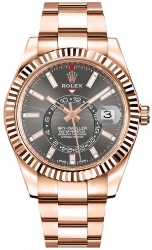 Rolex Sky-Dweller Everose Gold Men's Watch 326935