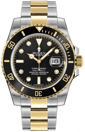 Rolex Submariner Date Men's Automatic Watch 116613