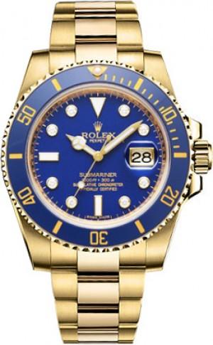 Rolex Submariner Date Diamond Men's Watch 116618