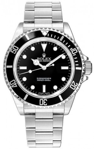 Rolex Submariner Black Dial Men's Watch 14060M