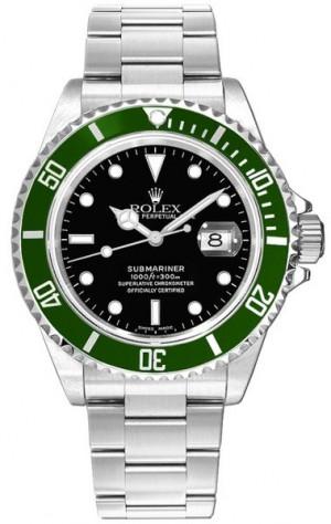 Rolex Submariner Date Men's Luxury Watch 16610