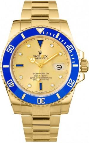 Rolex Submariner Date Men's Automatic Watch 16618