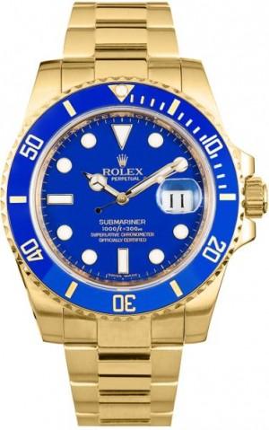 Rolex Submariner Date Men's Watch 16618