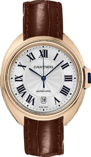 Cartier Cle De Cartier Solid Rose Gold Watch WGCL0010
